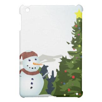 CHRISTMAS SNOW iPad MINI CASES