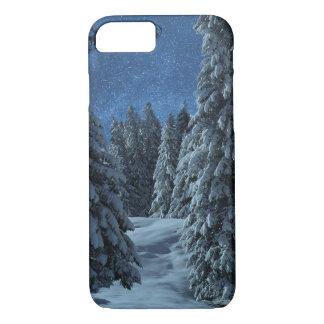 Christmas Snow Landscape iPhone 8/7 Case