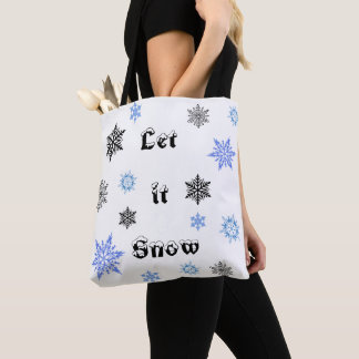 Christmas Snow Tote