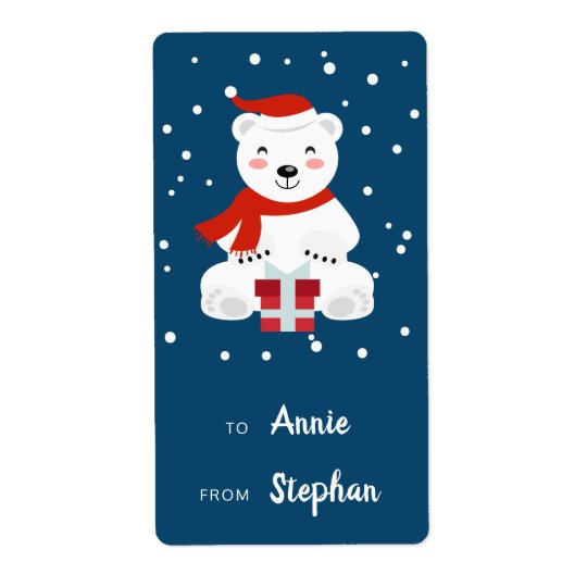 Christmas Snowbear