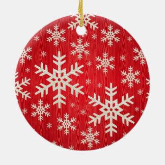 Christmas Snowflake Design Christmas Ornament