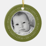 Christmas Snowflake: Double-Sided Photo Ornaments