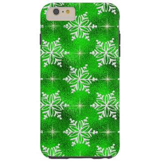 Christmas snowflake iPhone 6 plus tough case