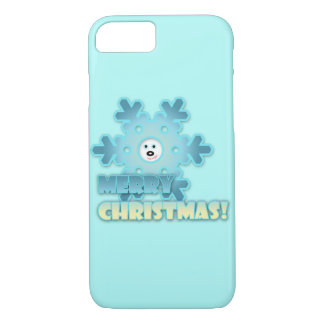 Christmas snowflake iPhone 8/7 case