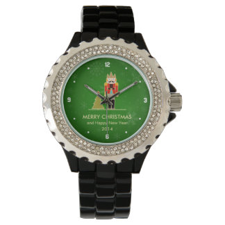 Christmas Snowflake - Nutcracker Holiday Greeting Watch