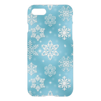 Christmas snowflake pattern iPhone 7 uncommon case