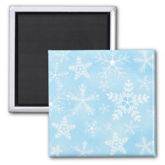 Christmas Snowflake Pattern Magnet