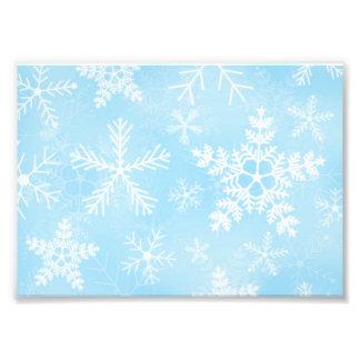 Christmas Snowflake Pattern Art Photo