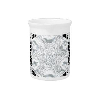 Christmas snowflake pitcher