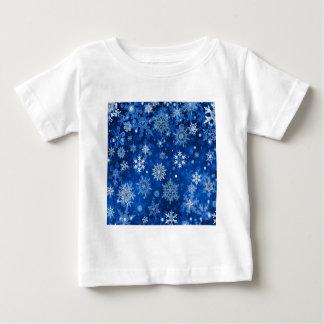 Christmas Snowflakes Blue and Silver Shirt
