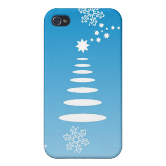 christmas-snowflakes cover for iPhone 4