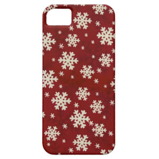 Christmas Snowflakes iPhone 5 Case