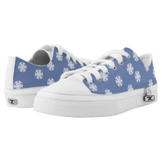 Christmas Snowflakes Low Tops