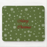 Christmas Snowflakes Mouse Pads