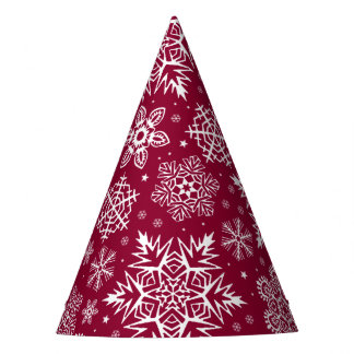 Christmas Snowflakes Party Hat