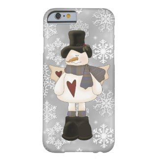 Christmas Snowman Angel iPhone 6 barely there case