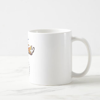Christmas Snowman Art Coffee Mug
