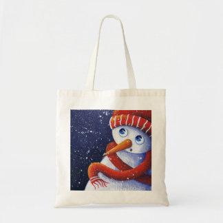 Christmas Snowman Bag
