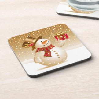 Christmas Snowman Coasters (set of 4)