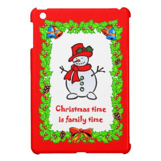 Christmas snowman cover for the iPad mini