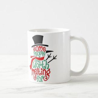 Christmas Snowman Holiday Cheer Coffee Mug