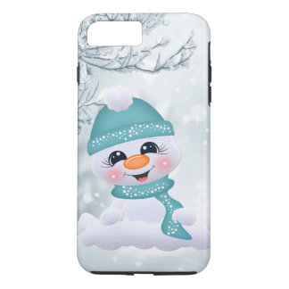 Christmas snowman holiday Festive iPhone 8/7 case