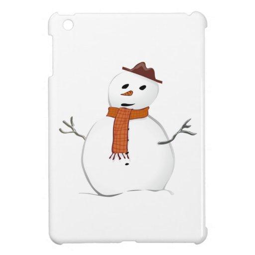 Christmas Snowman Case For The iPad Mini