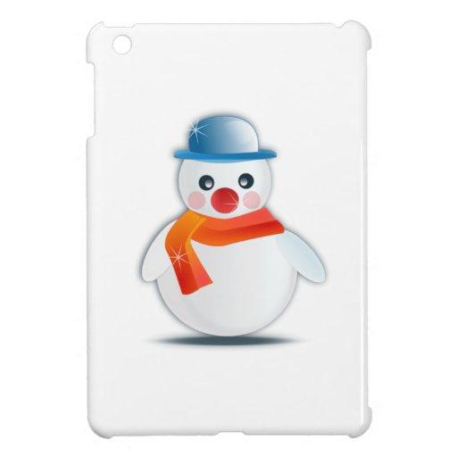 Christmas Snowman iPad Mini Cases