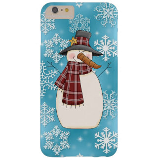 Christmas Snowman iPhone 6 plus barely there case