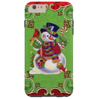 Christmas Snowman iPhone 6 plus Vibe case