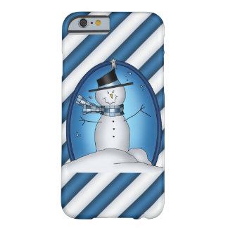Christmas Snowman iPhone 6 slim case
