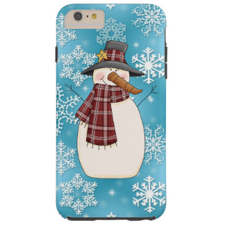 Christmas Snowman iPhone 6 tough case