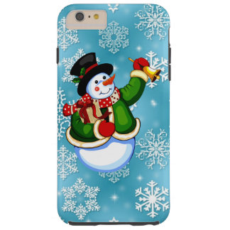 Christmas Snowman iPhone 6 tough case