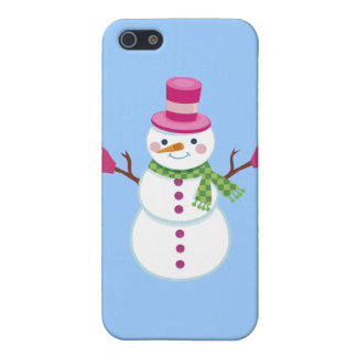 Christmas Snowman iPhone Case Cover For iPhone 5/5S