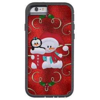 Christmas Snowman iPhone tough Xtreme case