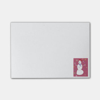 Christmas Snowman Post-it Notes