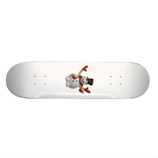 Christmas Snowman Skate Board