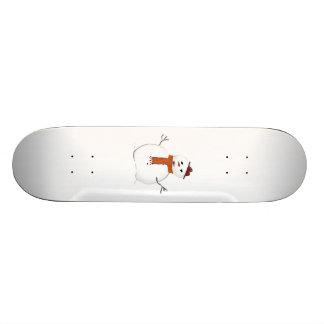 Christmas Snowman Skate Deck