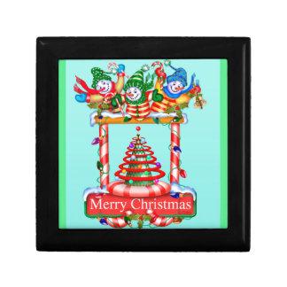 CHRISTMAS SNOWMEN ENGLISH GIFT BOX