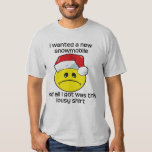 Christmas - Snowmobile Tee Shirt