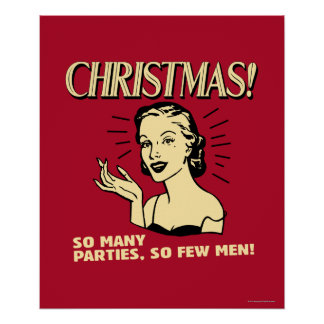 Christmas: So Many Parties, So Few Men Poster