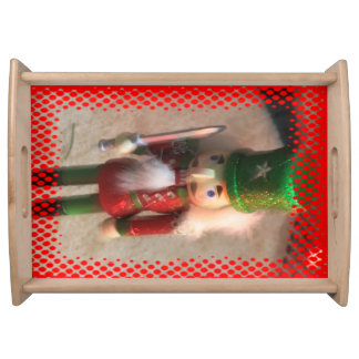 Christmas Soldier  Serving Tray