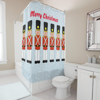 Christmas Soldier Shower Curtain