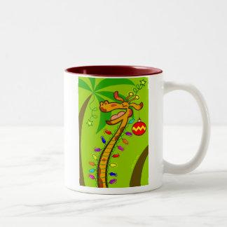 Christmas Somewhere Else! Two-Tone Mug