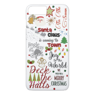 Christmas Song Design Phone Case