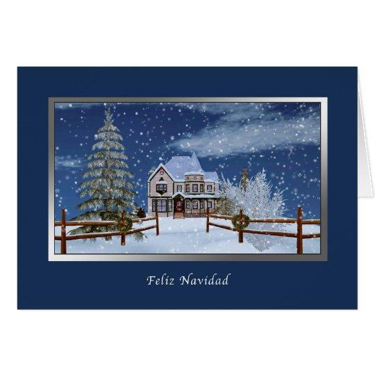 Christmas, Spanish Language, Feliz Navidad Card