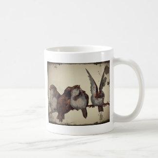 Christmas Sparrows Coffee Mug