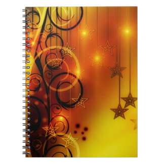 Christmas Spiral Note Book