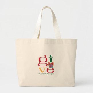 Christmas Spirit Canvas Bag