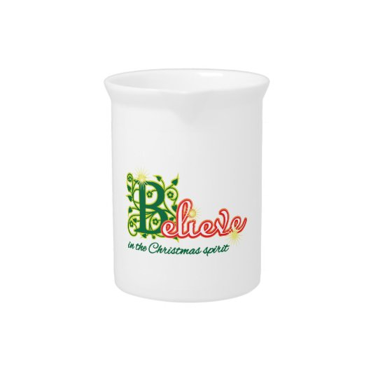 Christmas Spirit Drink Pitcher